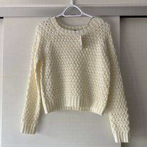 Sweaters - Forever 21 Cable Knit sweater NWT